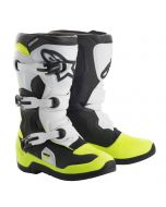 Bottes Motocross Enfant ALPINESTARS TECH 3S noir/blanc/jaune