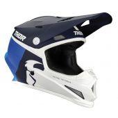 Thor Casque de motocross Sector Racer bleu marine bleu