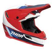 Thor Casque de motocross Reflex Apex rouge blanc bleu