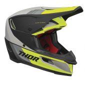 Thor Casque de motocross Reflex Apex vert citron gris