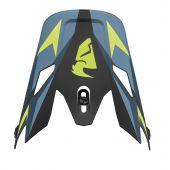 Thor kit de rechange pour la visière SECTOR WARSHIP bleu/vert citron