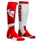 THOR 2018 - SOCK S8Y YOUTH MOTO RED WHITE