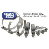 SAMCO CLAMP KIT RADIATOR HOSE STAINLESS STEEL   CKYAM86