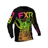 FXR Podium MX Maillot de cross Sherbert Aztèque