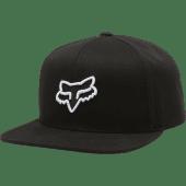 Fox Legacy Snapback Hat Black - One Size