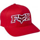 Fox ellipsoid flexfit hat flame red