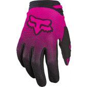 Fox Youth Girls 180 OKTIV Glove Pink
