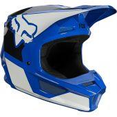 Fox Youth V1 REVN Helmet Blue
