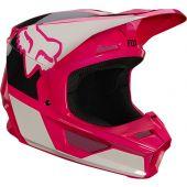 Fox Youth V1 REVN Helmet Pink