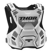 Thor S8 Guardian MX Roost Deflector white black