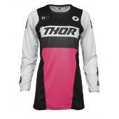 Thor Femme Maillot de cross Pulse Racer noir rose