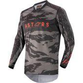 Alpinestars Maillot de cross pour enfants Racer Tactical Noir/Camouflage/Rouge