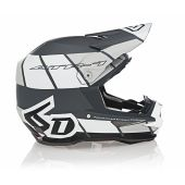 6D Helmet ATR-1 Shear Matte White/Grey/Black