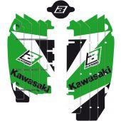 Blackbird DREAM 3 Décalco de grille de radiateur KAWASAKI