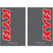 Blackbird Stickers de fourche KAYABA CARBON LOOK 2PK