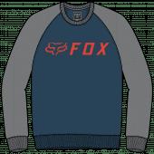 Fox apex crew Pull en polaire Indigo foncé