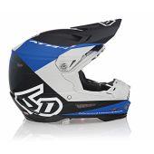 6D Helmet ATR-2 Quadrant Blue/Black/Grey