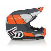 6D Helmet ATR-1 Shear Matte Orange/Grey/Black