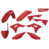 Kit plastiques Polisport CRF250R 18-.. CRF450R 17-.. Rouge CR04