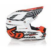 6D Helmet ATR-2 Havoc Neon Orange/White