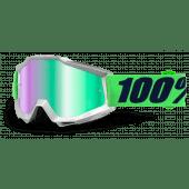 100% ACCURI GOGGLE NOVA MIRROR GREEN
