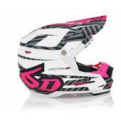 6D Helmet ATR-2 Havoc Neon Pink/White