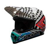 BELL MX-9 Mips Helmet Check Me Out Gloss Black/White