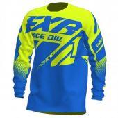 FXR Clutch MX Jersey Blue/Hi Vis
