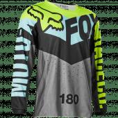 Fox enfants 180 TRICE JERSEY Pétrole YL