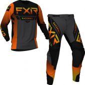 FXR Helium MX Inferno Charcoal Black Gear combo