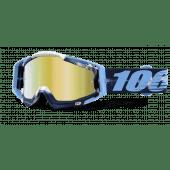 100% RACECRAFT GOGGLE TIEDYE MIRROR GOLD