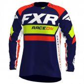 Maillot FXR Revo MX Marine/Jaune/Rouge