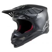 Casque Alpinestars Supertech SM10 Solid Noir Matte Carbone