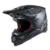 Casque Alpinestars Supertech SM8 Solid Matte Noir