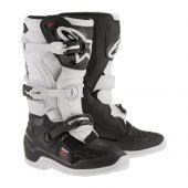 Bottes Motocross Enfant ALPINESTARS TECH 7S noir/blanc