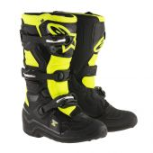 Bottes Motocross Enfant ALPINESTARS TECH 7S noir/jaune