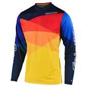 Troy Lee Designs GP Air maillot motocross Jet jaune Orange