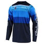Troy Lee Designs SE maillot motocross Spectrum bleu marine