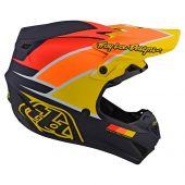 Troy Lee Designs SE4 Polyacrylite casque motocross Beta bleu marine jaune